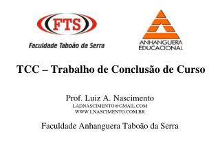 TCC   Trabalho de Conclus o de Curso