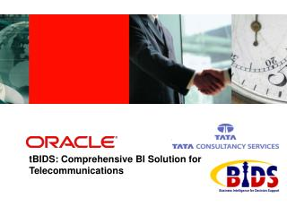 TBIDS: Comprehensive BI Solution for Telecommunications