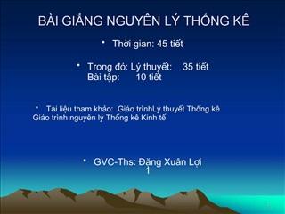 B I GING NGUY N L  THNG K