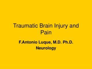 Traumatic Brain Injury and Pain