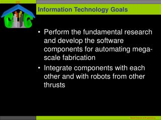 Information Technology Goals