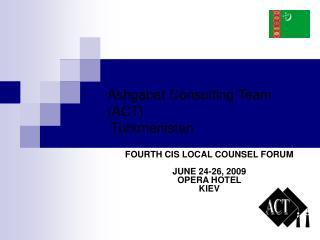 Ashgabat Consulting Team (ACT)  Turkmenistan
