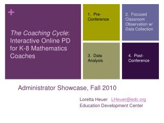 Administrator Showcase, Fall 2010