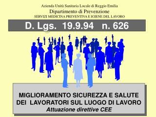 D. Lgs.  19.9.94   n. 626