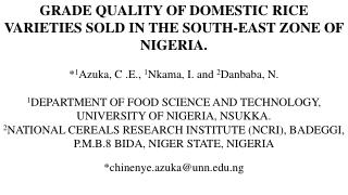 Niger  State Presentation