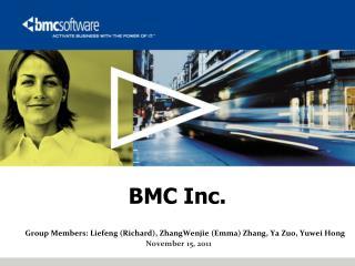 BMC Inc.