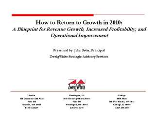 How to Return to Growth in 2010