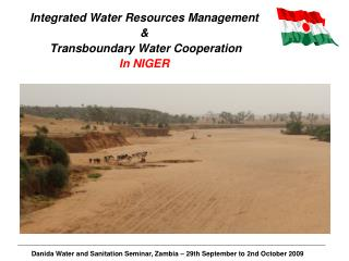 Integrated Water Resources Management &  Transboundary Water Cooperation In NIGER