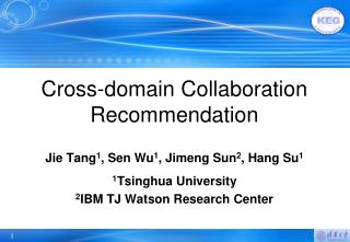 Cross-domain Collaboration Recommendation