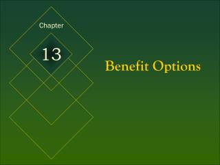 Benefit Options