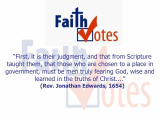 First, it is their judgment, and that from Scripture taught them, that those who are chosen to a place in government, m