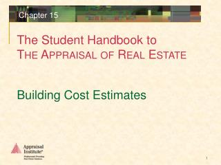 Building Cost Estimates