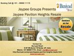 Jaypee Green Pavilion Heights Resale