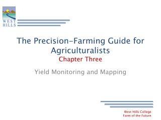The Precision-Farming Guide for Agriculturalists Chapter Three
