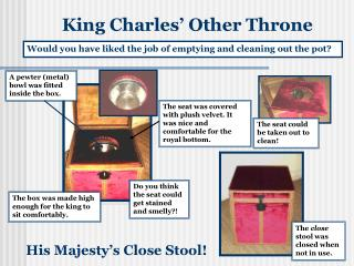 King Charles  Other Throne