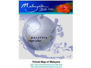 Virtual Map of Malaysia map.virtualmalaysia