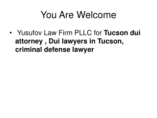 Arizona criminal defense lawyer.