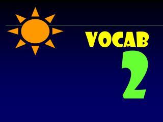 Vocab  2
