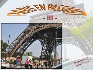 PARIS EN PASSANT