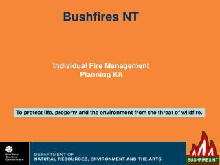 Bushfires NT