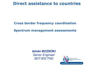 Direct assistance to countries