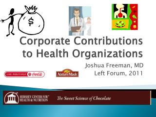 Corporate Contributions to Health Organizations