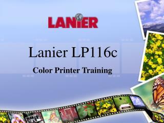 Lanier LP116c