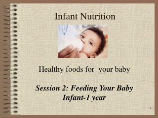 Infant Nutrition