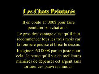 Les Chats Peintur s