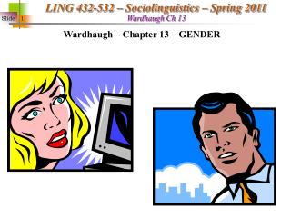 Wardhaugh   Chapter 13   GENDER