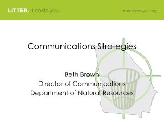 Communications Strategies