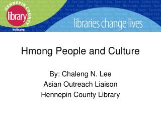 Hmong People and Culture