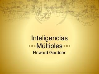 Inteligencias M ltiples