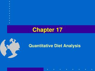 Quantitative Diet Analysis