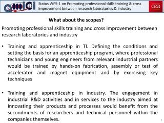 Professional  Apprenticeship Training