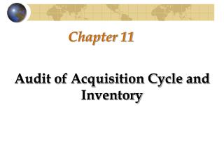 Audit of the Acquisition Cycle