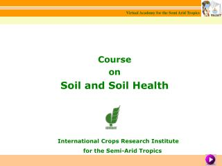Course on Soil and Soil Health