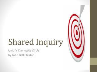 Shared Inquiry