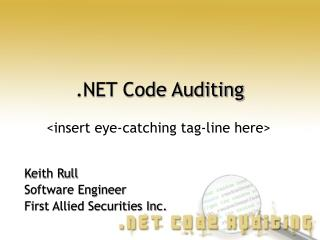 Code Auditing