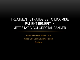 Advances in the adjuvant treatment of colorectal cancer