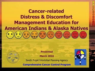 Cancer-related  Distress  Discomfort Management Education for  American Indians  Alaska Natives