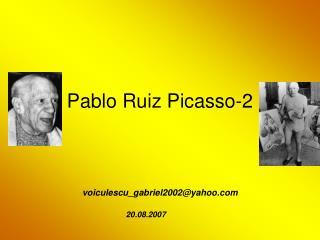 Pablo Ruiz Picasso-2