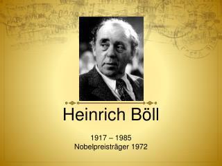 Heinrich B ll