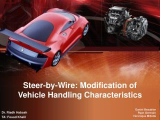 Steer-By-Wire for Vehicle State Estimation and Control