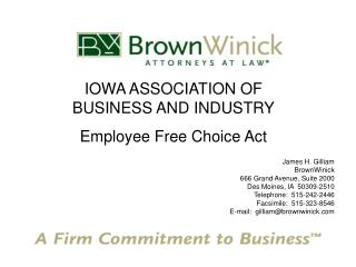 What is the Employee Free Choice Act