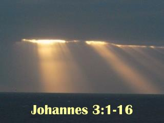 Johannes 3:1-16
