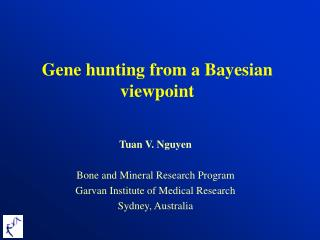 Gene hunting from a Bayesian viewpoint
