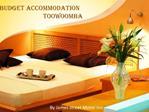 Budget Accommodation Toowoomba
