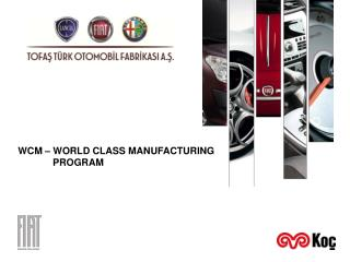 WCM   WORLD CLASS MANUFACTURING              PROGRAM