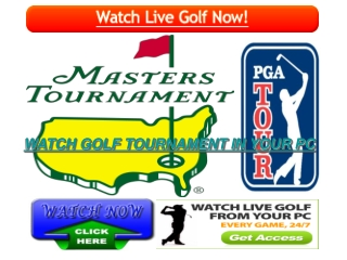 Stream  MASTERS TOURNAMENT LIVE GOLF STREAMING HD ONLINE TV.